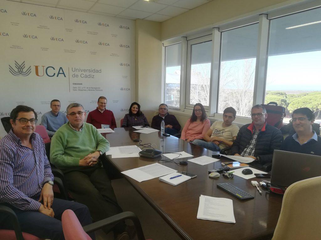 Reunión de los comités del proyecto
