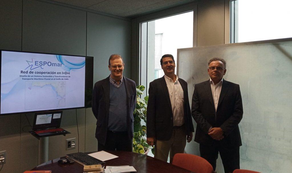 IMG Proyecto ESPOmar en la Consejería de Fomento