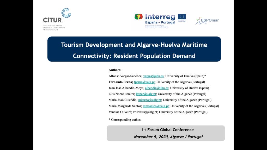 IMG Conferencia t-Forum, en la Universidad del Algarve